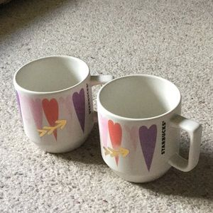 Starbucks 2016 edition 12oz coffee mugs lot of 2
